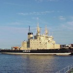 An icebreaker in Helsinki